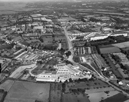 A Redon, l'usine Flaminaire (22 juin 1961). Musée de Bretagne: 971.0037.252.