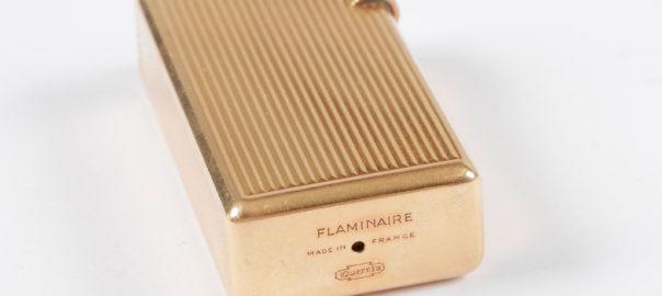 Briquet en or Flaminaire. Collection particulière.