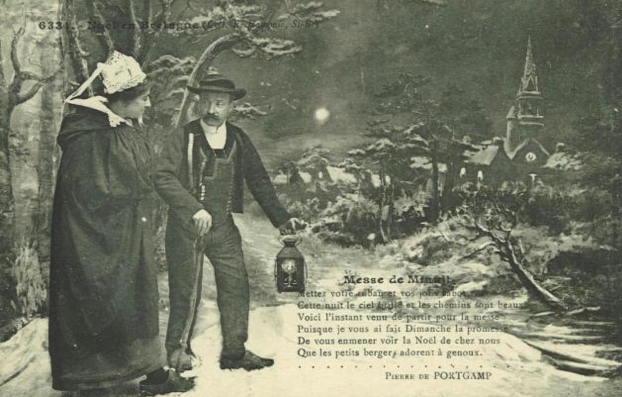 Carte postale comportant un poème de Pierre de Portgamp. Le Carton voyageur: 6331.