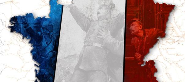 """Affiche de la Journée d'études """"Une approche pluridisciplinaire de la guerre de 1870-1871"""" organisée le 4 avril 2020 aux Ecoles de Saint-Cyr Coëtquidan (détail)."""