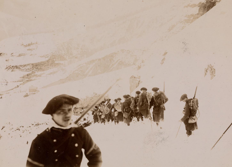 Chasseurs alpins, vers 1900. Musée de Bretagne: 2017.0011.121.262.