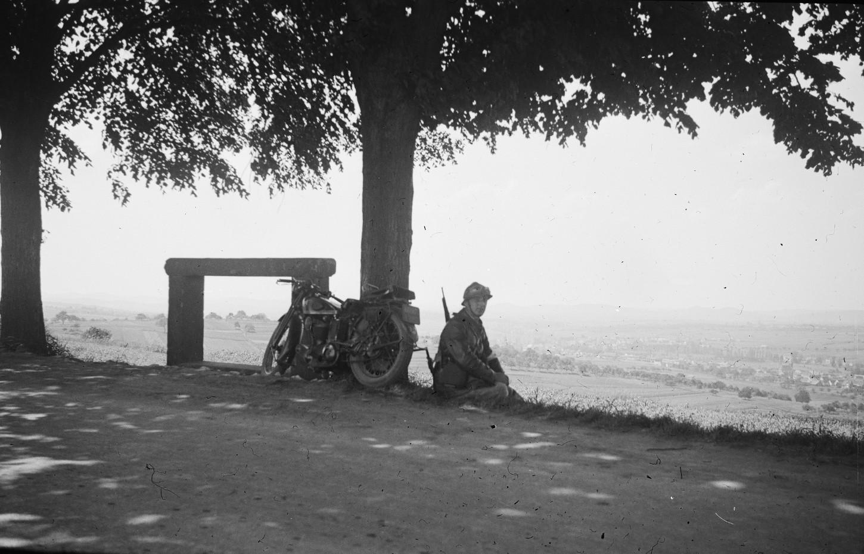 Soldat français, sans lieu ni date. Musée de Bretagne: 978.0026.19.