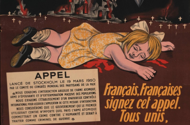Affiche du Parti communiste français. Auteur: André Fougeron (dessin).