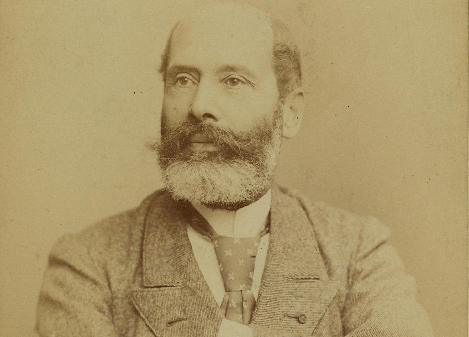 Portrait d'Emile de Keratry (détail). Musée de Bretagne: 980.0051.217.
