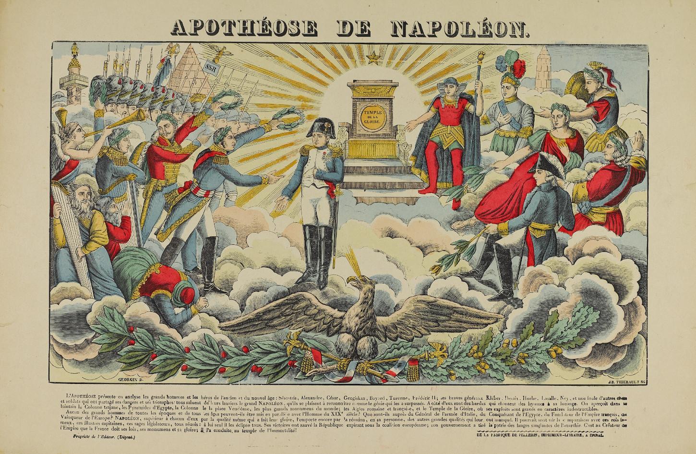 L'Apothéose de Napoléon, image d'Epinal. Musée de Bretagne: 2014.0000.102.