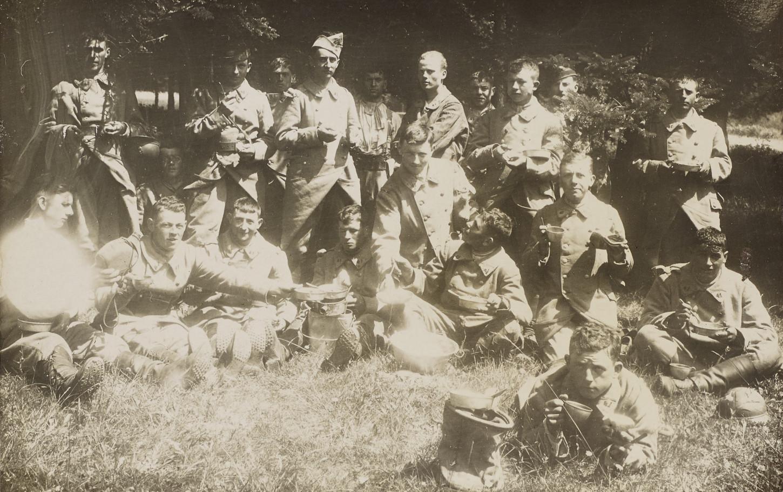 Portrait de soldats du 41e RI de Rennes (environs de 1934). Musée de Bretagne: 2013.0003.45.