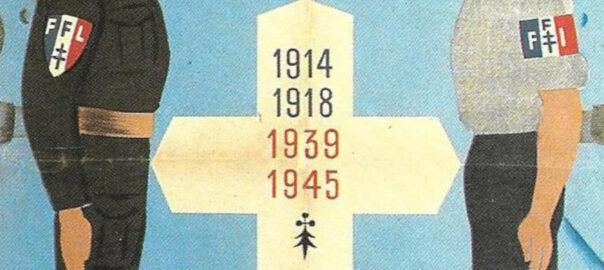 Affiche annonçant la venue à à Saint-Marcel du général de Gaulle, le 27 juillet 1947 (détail). Collection particulière.