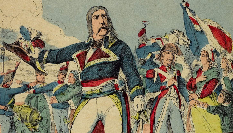 Image d'Epinal représentant le Chant du départ (détail). Musée de Bretagne: 2013.0000.236.