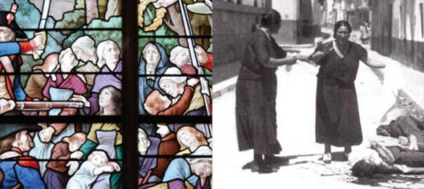 Visuel de la 15e séance du séminaire « Etudier la guerre » consacrée à « la violence en temps de guerre civile » (détail).