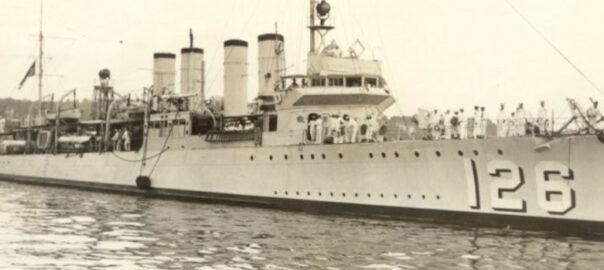 L'USS Badger dans les années 1930. Wikicommons.