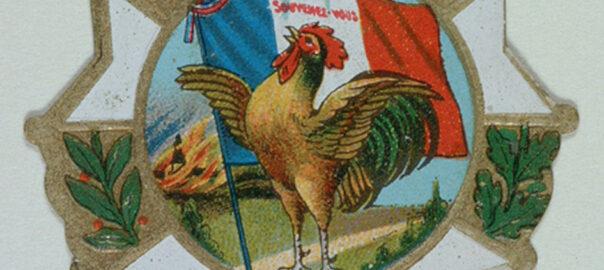 Insigne des blessés de la tuberculose d'Ille-et- Vilaine, 1918. Musée de Bretagne : 949.3089.