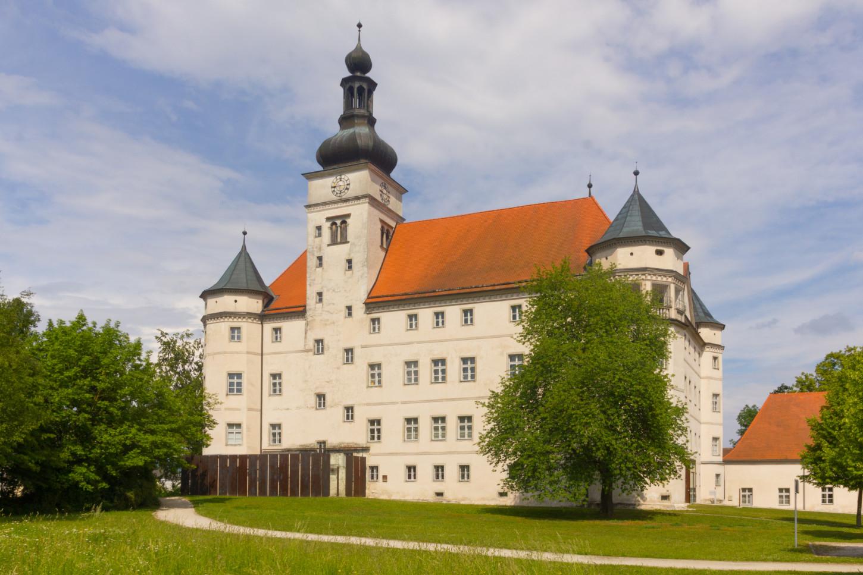 Le château d'Hartheim, en Autriche, 19 mai 2018. Cliché: Liberaler Humanist / Wikicommons.