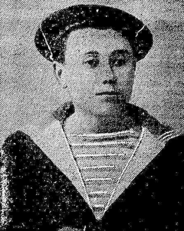 Portrait de Fortuné Guézel publié en première page de l'édition du 8 novembre 1906 du Nouvelliste du Morbihan.