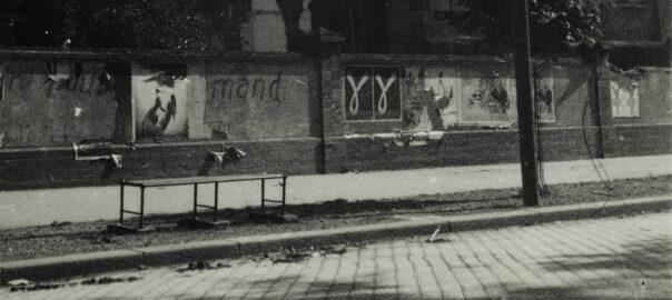 Vue prise sur el boulevard de la Liberté à Rennes, sans date. Musée de Bretagne: 990.0032.251.