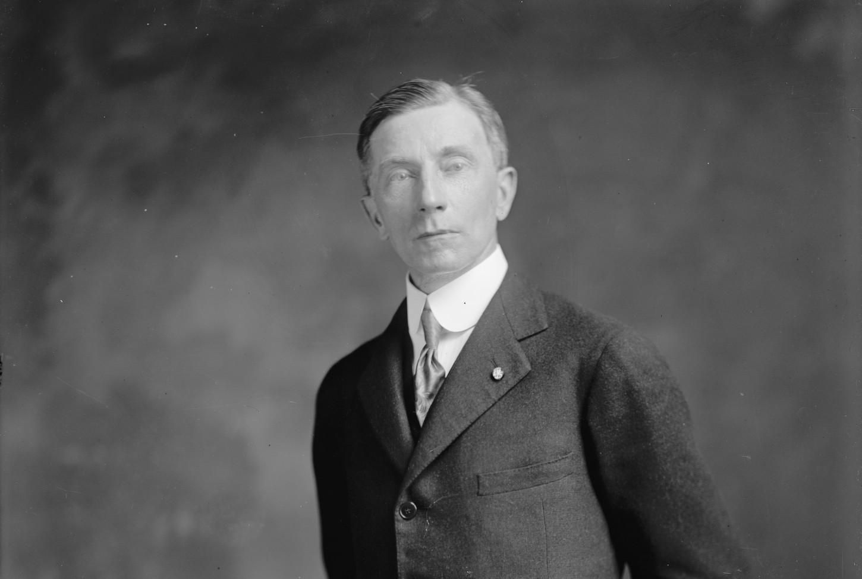 John Ball Osborne, consul des Etats-Unis en poste au Havre à partir de janvier 1916 et, à ce tire, en charge de l'Ille-et-Vilaine (1905). Library of Congress : LC-H25- 80967-G [P&P].