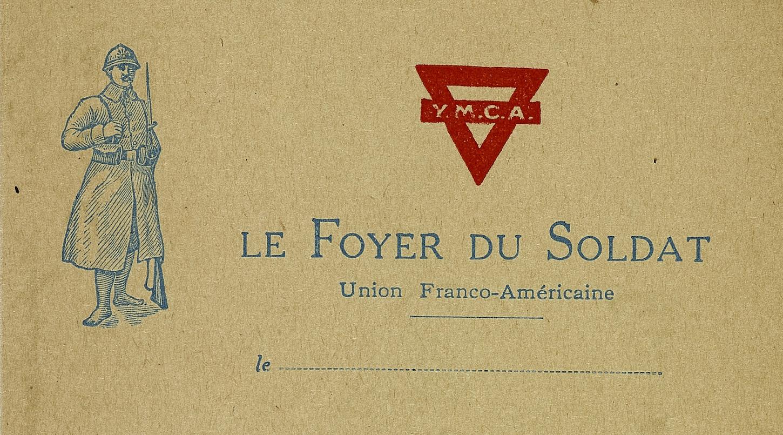 Le YMCA, porte d'entrée vers la carrière consulaire pour Herbert O. Oswald. Papier à entête (détail). Musée de Bretagne : 2000.0021.144.
