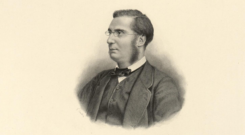 Portrait d'Emile Ollivier par Giacomo Carelli (1870). Gallica / Bibliothèque nationale de France: département Estampes et photographie, RESERVE FT 4-QB-370 (167).
