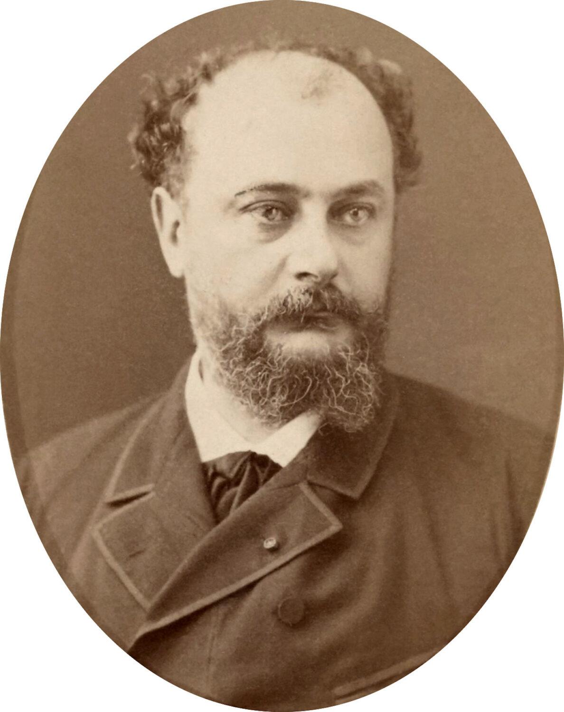 Portrait d'Ernest Camescasse (1882). Wikicommons.